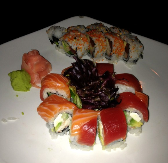 Gluten-free Sushi at Tani St. Louis