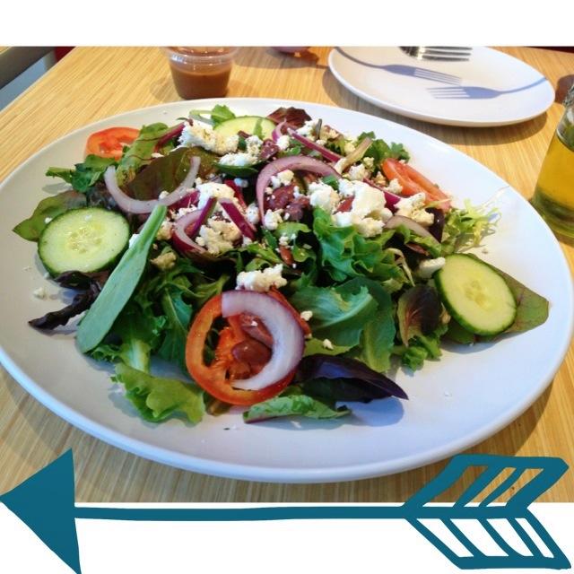Greek Salad Gluten Free zpizza