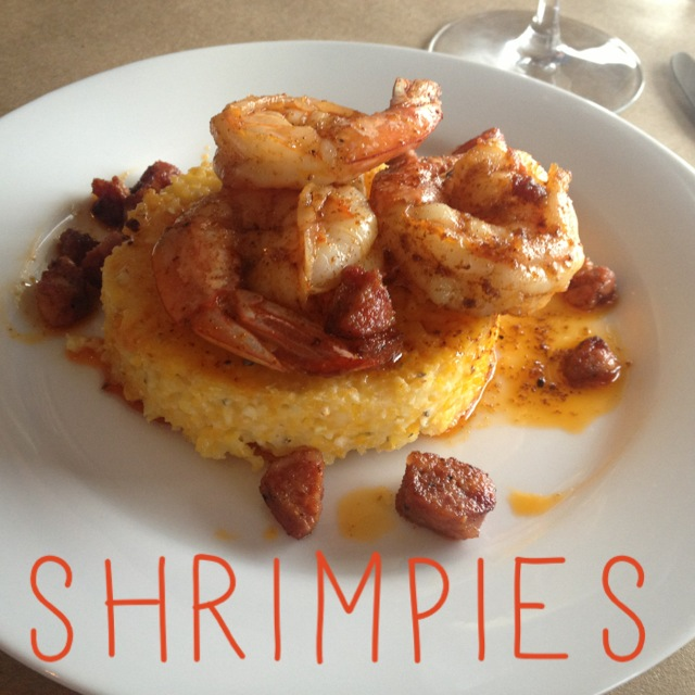 Home Wine Kitchen Gluten-free Shrimp and Grits