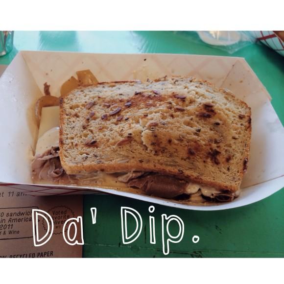 Fozzie's Gluten-free Da Dip sandwich