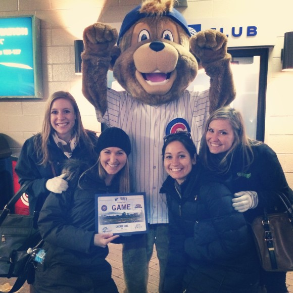 Gals at Wrigley Field | Gluten-free Pearls
