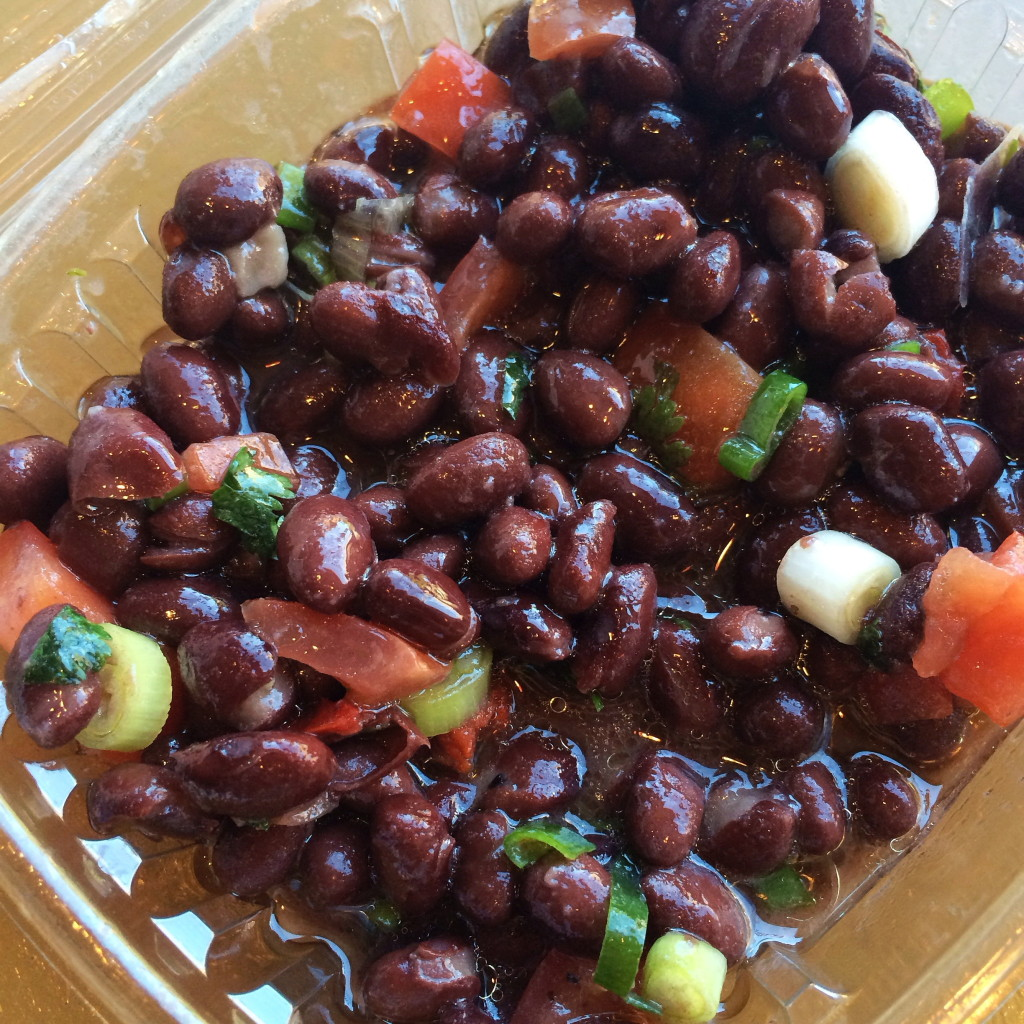 Gluten-free at Bountiful Eatery in Chicago - Gluten-free black bean salad | Gluten-Free Pearls