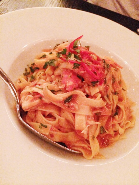 Gluten-free at RPM Italian - Spicy King Crab Pasta | Gluten-Free Pearls